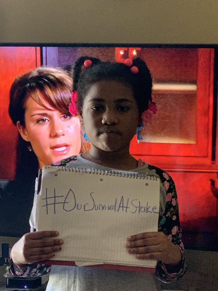 #OurSurvivalAtStake