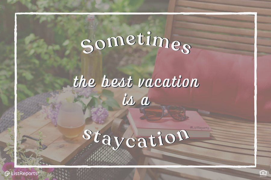 Your home may have been your office last year, make it your hotel and vacation now! What's the best staycation you've ever had? #thehelpfulagent #home #houseexpert #house #staycation #vacation #dreamhome #realestateagent #homeowners #sellhomes #buyhomes #marcusvigil #heretohelp
