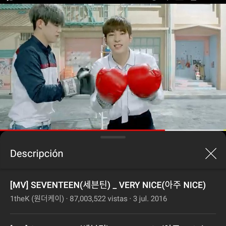 Happy 87M !! Very Nice!! I love You #SEVENTEEN   #세븐틴  @pledis_17