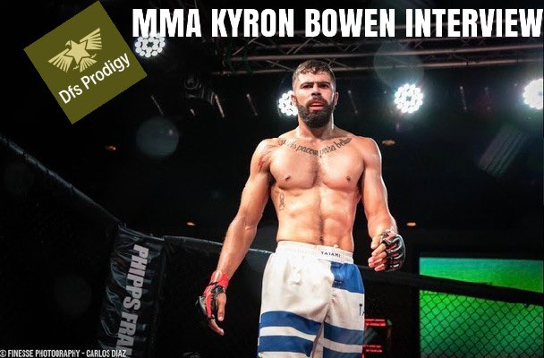 MMA Fighter Kyron Bowen Interview! Definitely check out his upbringing and training regiment!  @KyronBowen #ufc