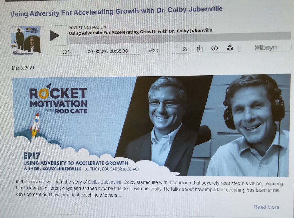Listen to this week's episode of rocket motivation podcast @drjubenville   Using adversity to accelerate growth. #adversity #motivation #inspiration #podcasts #rocketmotivation