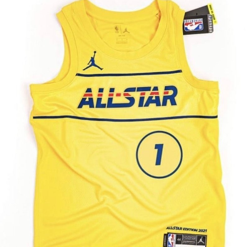 The 2021 NBA All-Star jerseys have reportedly been leaked, h/t @camisasdanba.  Thoughts? https://t.co/37NyzHM8Yx
