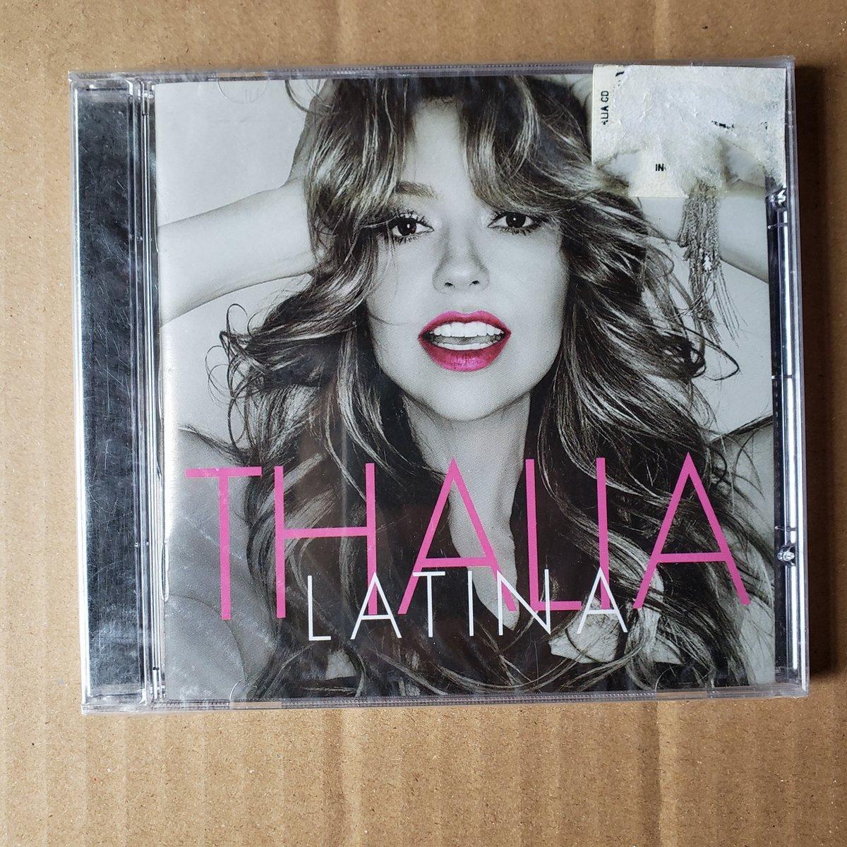 @thalia CD #Latina Nuevo   CÓMPRALO AQUÍ 👉  O AQUÍ 👉   #Thalia #DesdeEsaNoche #Maluma #todaviatequiero #delaghetto #vuélvemeaquerer #chikybombom #PenaNegra #TikiTikiTa #TeEncontraré #PoquitaFe #Enemigos #VivirJuntoATi #Thalifans