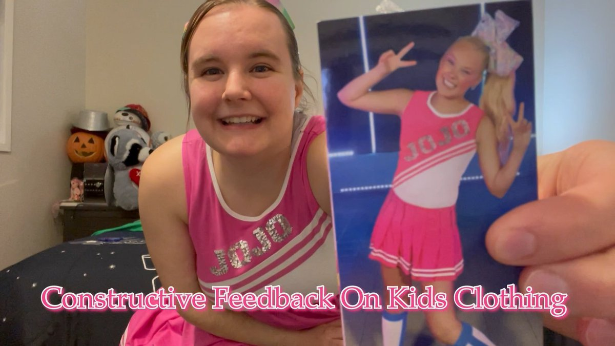 I wanted to share constructive feedback on the Jojo Siwa line at Target, and the inconsistency of kids clothing sizing in general across all stores. #Target #Feedback #JojoSiwa #Clothing Constructive Feedback On Kids Clothing https://t.co/ZcIOY4NLtO via @YouTube https://t.co/O4R8ZWHVQI