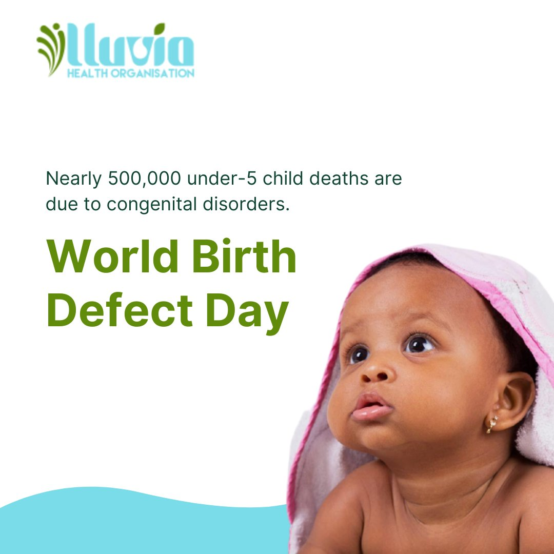 We are raising awareness of congenital disorders as a cause of child morbidity and mortality. Most child defects are preventable through proper maternal care during pregnancy.  . . . . . . #childhealth #healthcare #publichealth #pregnancy #baby