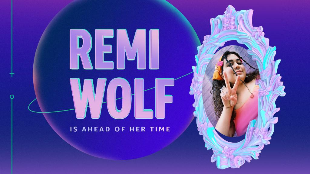 Happy #WomensHistoryMonth! To celebrate, we've stepped into the future to honor the many ladies reshaping the landscape of music. First up, the new boss of funk pop, @remiwolf