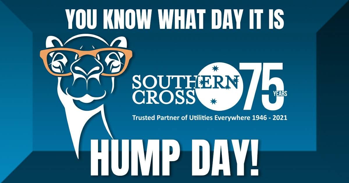 You know what day it is! We made it halfway through the work week. Let's keep up the great work! #happy #humpday #southerncross