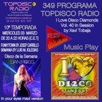 Image for the Tweet beginning: 349 Programa Topdisco Radio Music