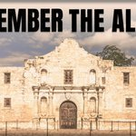Image for the Tweet beginning: #OTD in 1836 the Alamo