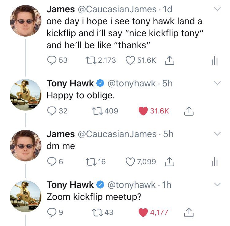 Replying to @CaucasianJames: i wonder if tony thinks i forgot about this