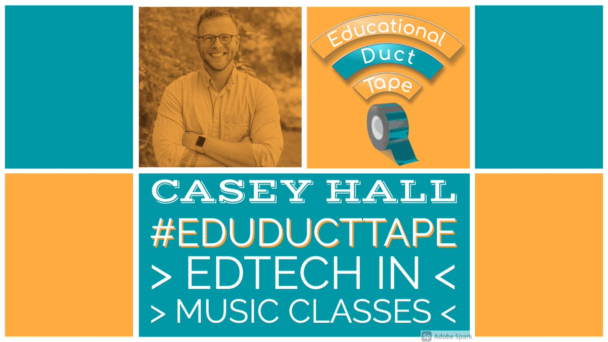 🎼🎹🎼🥁🎼🎷🎼🎺🎼🎸🎼🎻 Want some ideas for using #EdTech in elementary music classes?  Check out @MrHallPass' appearance on #EduDuctTape!  #MusicEd #MusicTeaching #MusicEducation #BlendedLearning #EarlyEd #ElemSchool #PreSchool  https://t.co/MC9xGLWMeA https://t.co/eAFCf2ZPIt