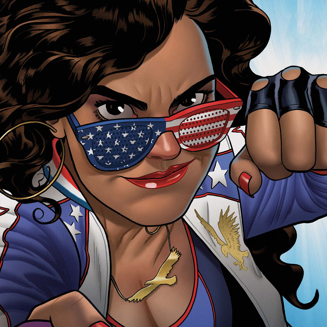 A portal punching princess from another planet! Just who is America Chavez? ⭐ Presented by @ToyotaLatino #Sienna.