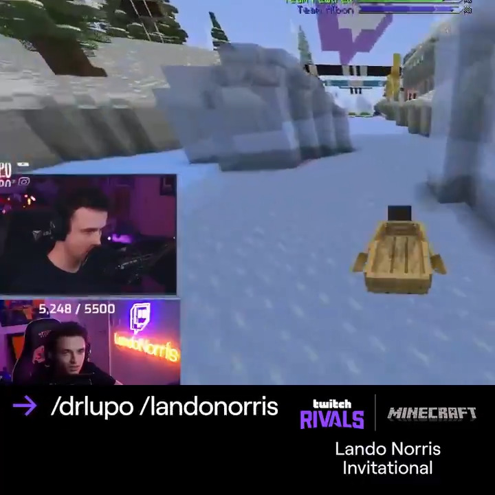 Just in case you didn't know….  DrLupo and Team Lando Norris are Kings of the Clutch! 👑  @LandoNorris @DrLupo @TheOfficialFNG @captainsparklez