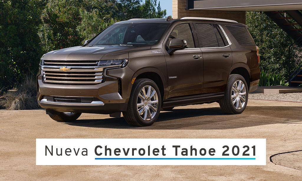 #ChevroletTahoe cuenta con un emblemático diseño,  tecnologías innovadoras, gran confort y la mejor dinámica de conducción. https://t.co/6l8ji54zkJ