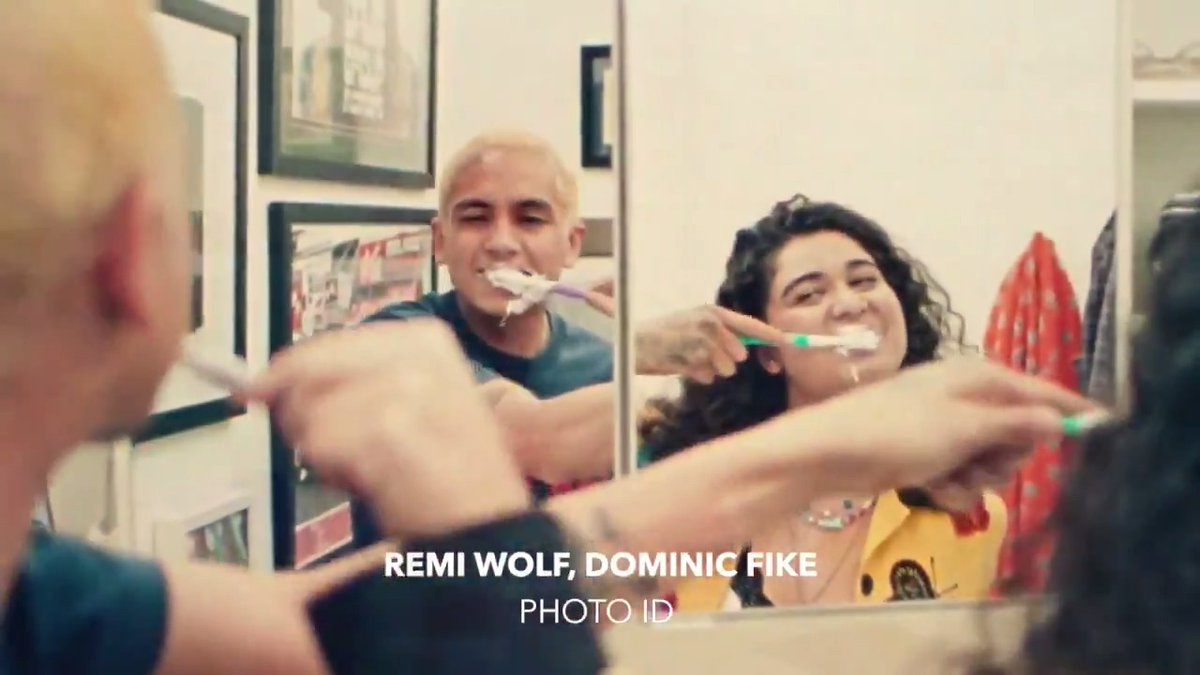 "This link up has us cheesin' 😬📸  Watch our #DSCVR alums, @remiwolf and @dominicfike, in a new version of ""Photo ID."" ⠀⠀⠀⠀⠀⠀⠀⠀⠀ ▶️"