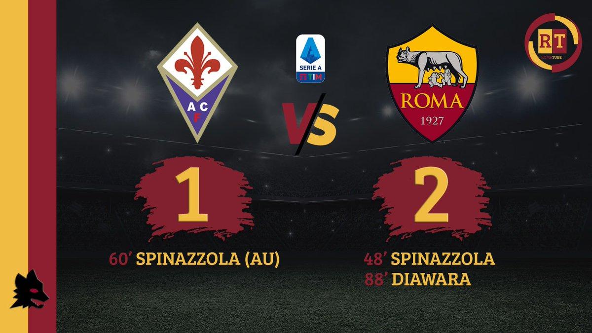 #FiorentinaRoma