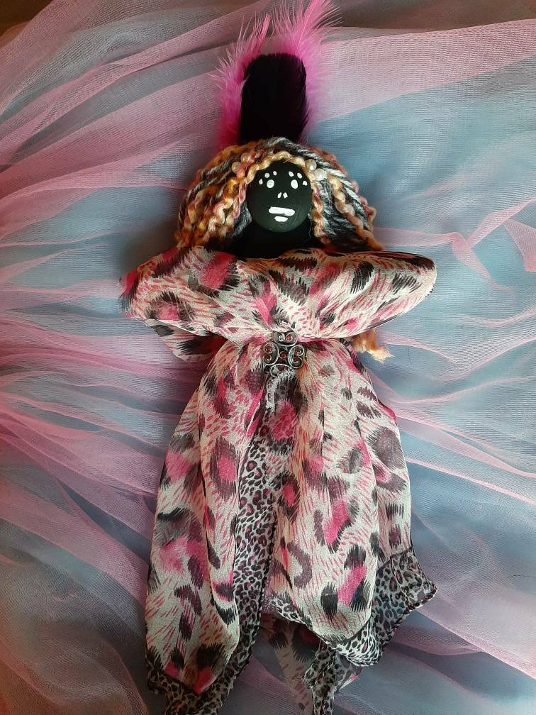 Voodoo Doll, real, authentic, blessed for love, passion, romance, energy, lust, fertility and sexuality, will bring attention and attraction #etsy #bridalshower #drawattraction #artdoll #love #attention #lust #voodoodoll