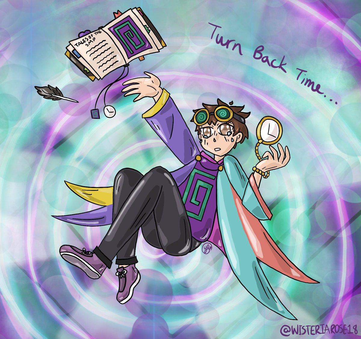 #karljacobsfanart #karlfanart #karljacobs #TalesFromTheSMP #talesofthesmp #TALESFROMTHESMPfanart #TalesfromtheSMPArt   Karl Time Traveling!