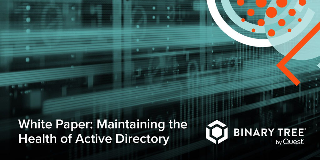 Finding all the problems in your #ActiveDirectory environment isn't always easy. But this white paper shows you how to identify and fix any potential issues within your AD. Download your copy today. https://t.co/SJohcYj3t0 https://t.co/MQFCCCADJ0