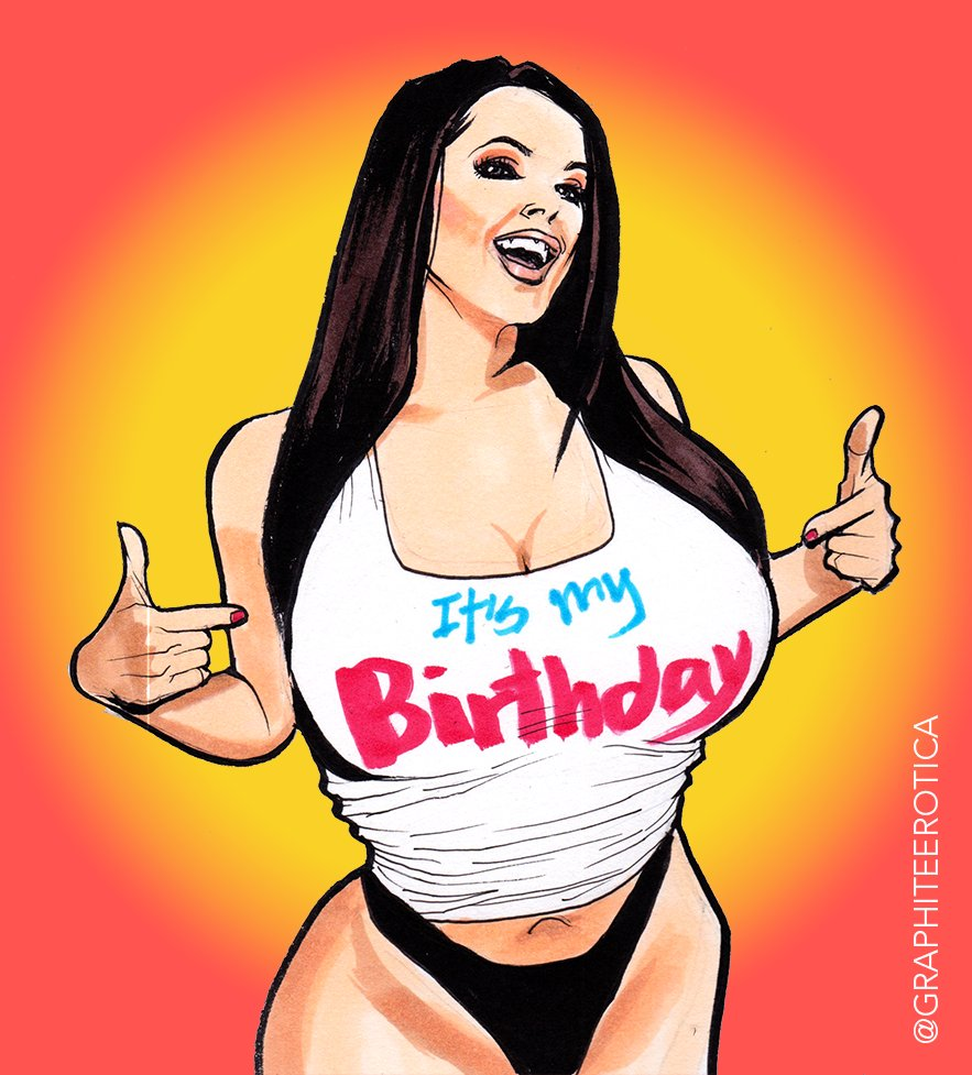 HAPPY BIRTHDAY, @ANGELAWHITE !!! You know I had to do this😊! Cheers!