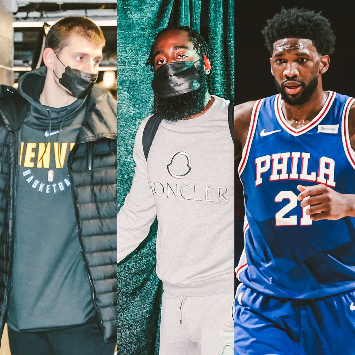 NBA MVP leaders as of March 3rd, 2021 (Basketball Reference)  NAME                         % TO WIN   ▫️Nikola Jokic                 50.6 ▫️James Harden             13.9 ▫️Joel Embiid                  13.1 https://t.co/7hZUCsYZ2S