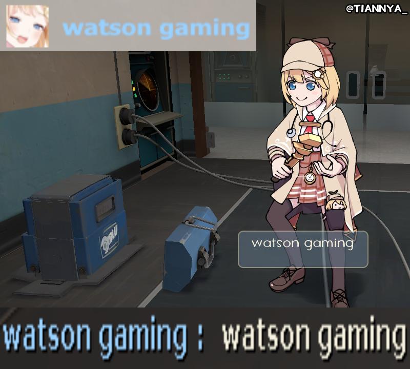 watson gaming #ameliaRT