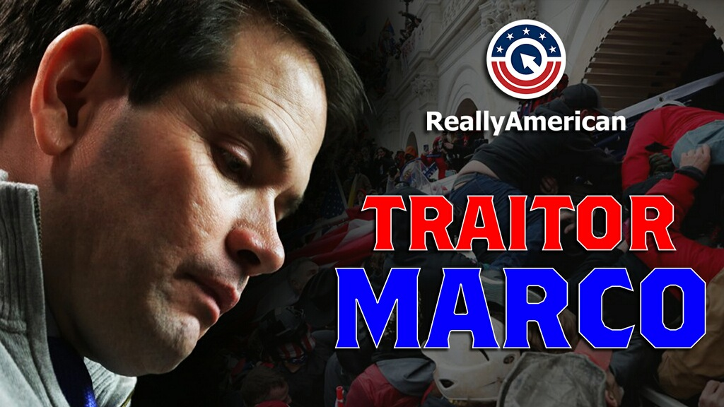 Our new video, #TraitorMarco, just hit Twitter a few minutes ago and it's already trendin' at #6.  Let's strap in and ride this rocket to #1!