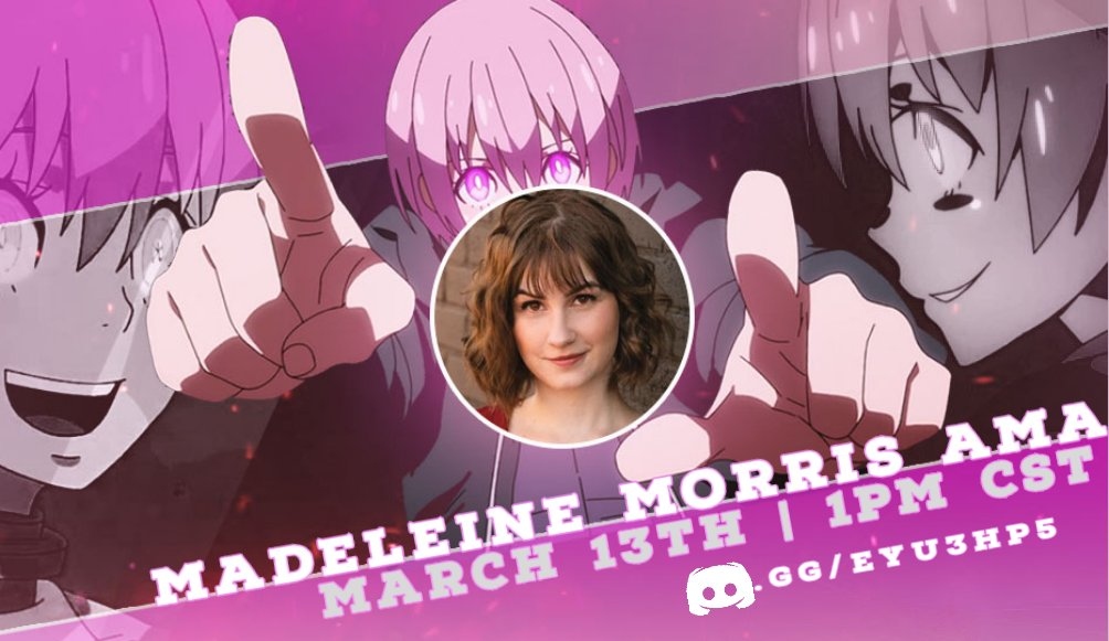 Hey, #FireForce fans! I'm doing an AMA hang in voice chat on the FF Discord next weekend! 🔥💕  Saturday, March 13 at 1pm CST. See y'all then?
