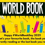 Image for the Tweet beginning: Happy #WorldBookDay 2021!  What's your favourite