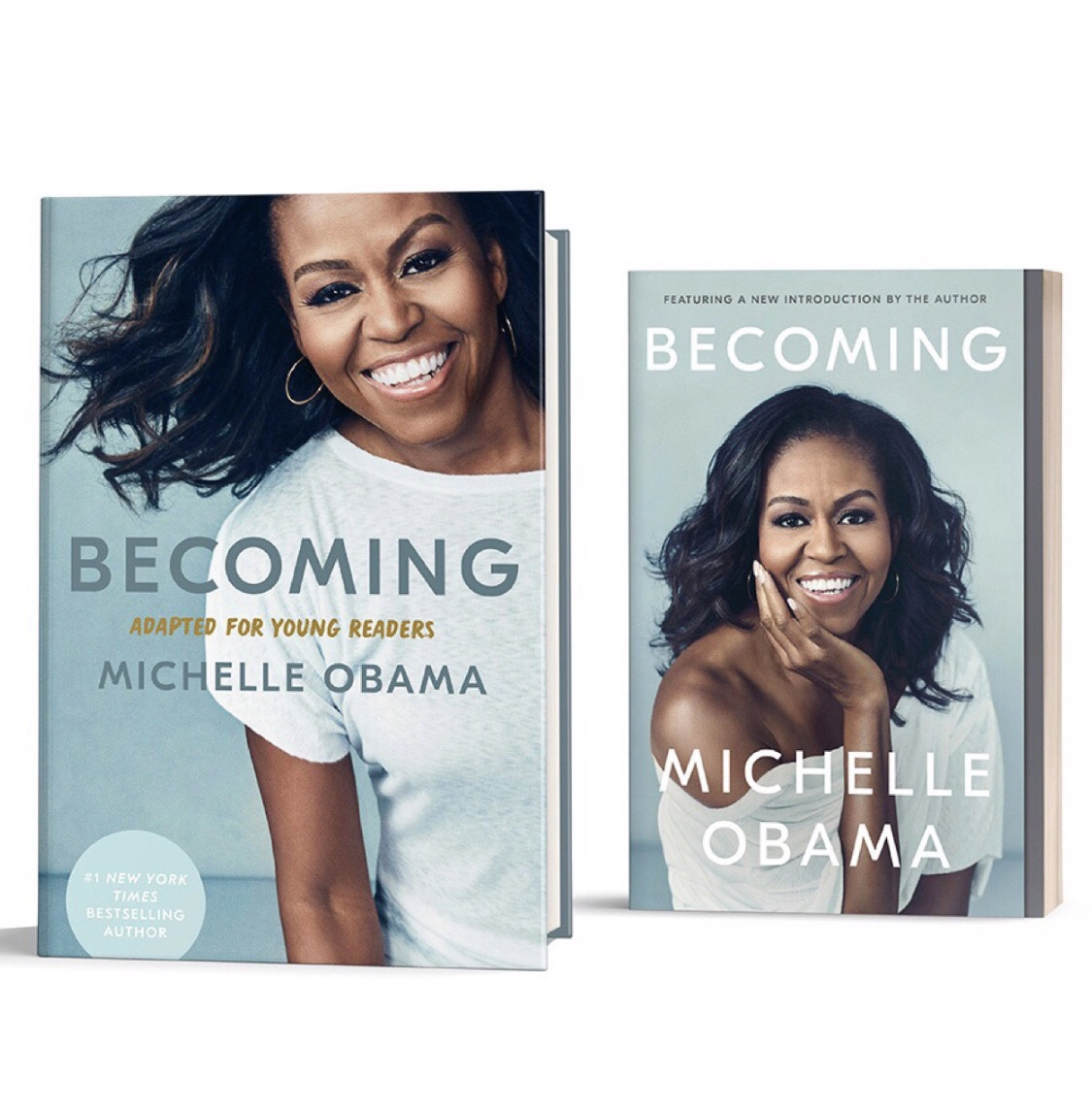 .@MichelleObama's inspiring & powerful memoir, Becoming, has been adapted for young readers & is out now in paperback!   Available at .  #IAmBecoming