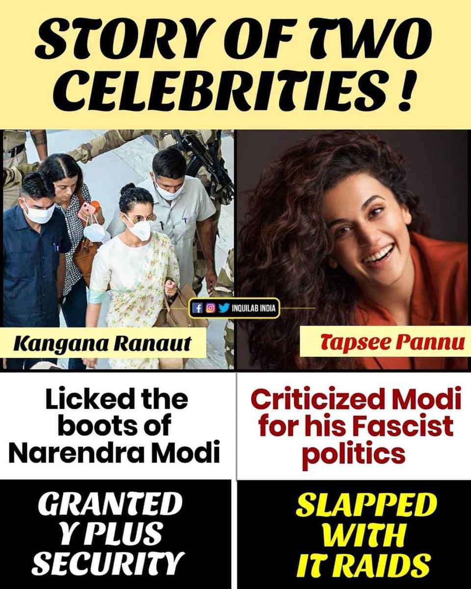 Real face of BJP. Record low standards being set by Mr Modi and party! #BJPHataoBetiBachao #FarmersProtest #Rubikaliyaquat #ArnabGoswami #sudhirchaudhary . You are strong enough to get through this #TapseePannu . 👏👏👏