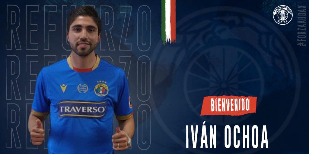 "Audax Italiano (😷) on Twitter: ""Iván Ochoa se viste de audino👏🏻 El volante mexicano🇲🇽 con paso por @evertonsadp llega a préstamo por un año del @clubleonfc 🦁 Ochoa se une al cuadro"
