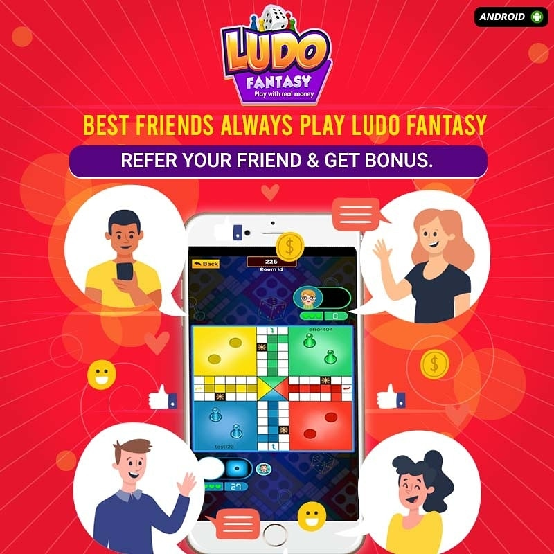 Best friends always play Ludo Fantasy. Refer your best friends and earn bonus. Download now:   #ludo #LudoFantasy #fantasyplayer #2tokenludogame #ludoonline #ludowithrealmoney #ludogame #ludomemes  #realmoneygames #westbengal #westbengaldiaries