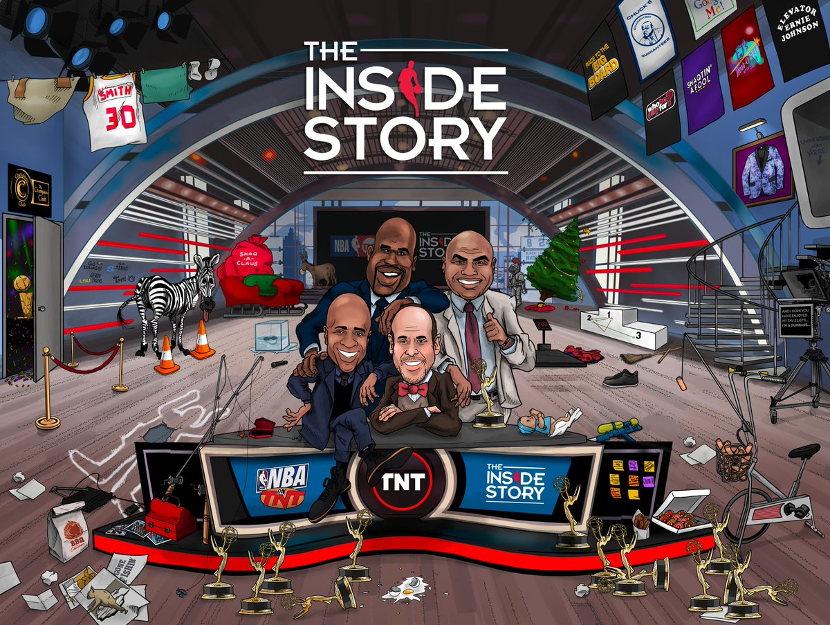 It's been more than 30 years in the making 🍿  #TheInsideStory begins tonight after Heat/Pelicans on TNT!