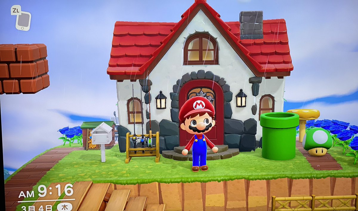 test ツイッターメディア - おはゼーット!あつ森とマリオがコラボ。こりゃゲームの楽しみ方も増えましたね。島がもう一つ買えたらマリオだけの島にしたいんだけど任天堂さん考えてくれないかな〜?てなこで今日も良い一日を! #あつ森 #マリオ #switch #水木一郎 https://t.co/y2jq2kGDV3