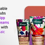 Image for the Tweet beginning: This Kneipp hand cream tube