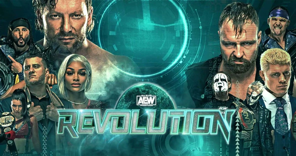 WATCH AEW REVOLUTION FOR FREE on @FiteTV  Non-US Residents only!  To enter the contest:  - Follow @FightfulWrestle  - Follow @FiteTV  - RT this post  AEW REVOLUTION this Sunday!!