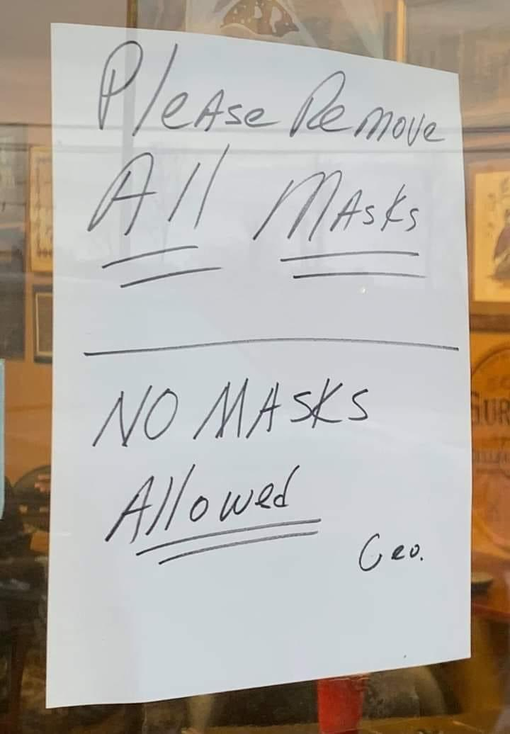 """Mississippi we got to do better... w""""Wear your mask please !"""
