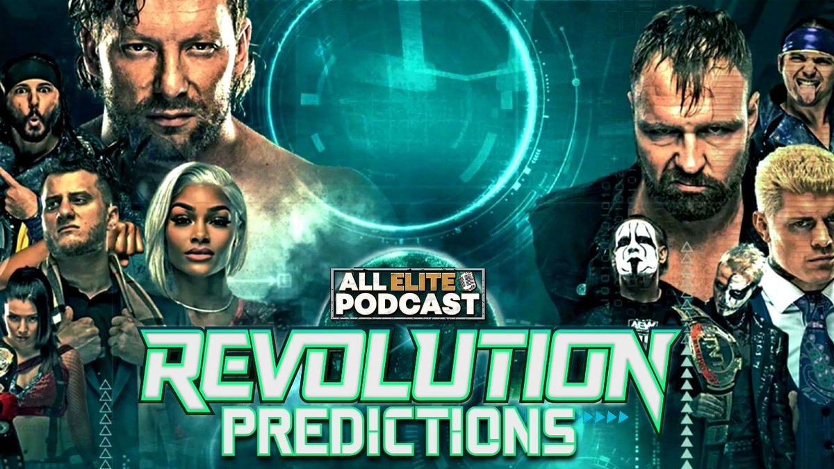 REMEMBER AEW FANS! Join us tomorrow night LIVE on YouTube (7pm/EST) for the AEW Revolution Predictions Show! Joined by special guest @KhalafSammy!  SUB HERE:   #AEW #AEWRevolution #AEWDynamite #AllElitePodcast