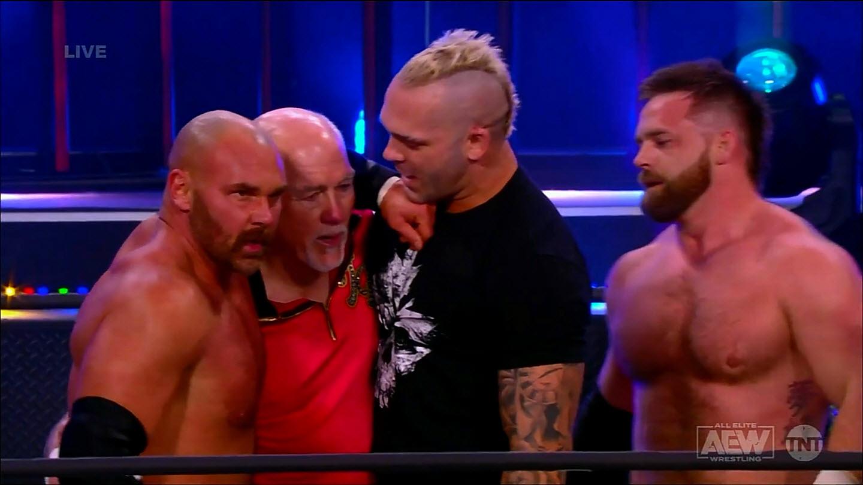 Volvió Spears en AEW Dynamite y la única feliz debe ser Peyton Royce.