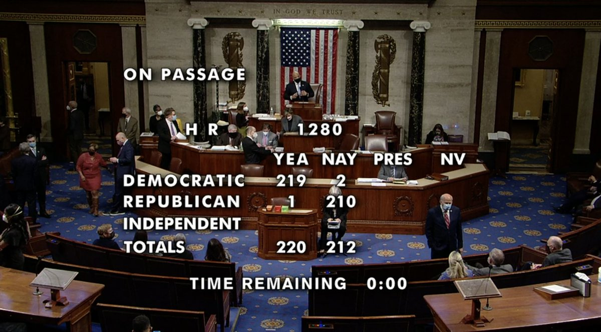 BREAKING: The House just took an important step by passing the George Floyd #JusticeInPolicingAct.  We look forward to working with the Senate to strengthen this legislation to protect and save the lives of our brothers and sisters who have been brutalized for far too long.