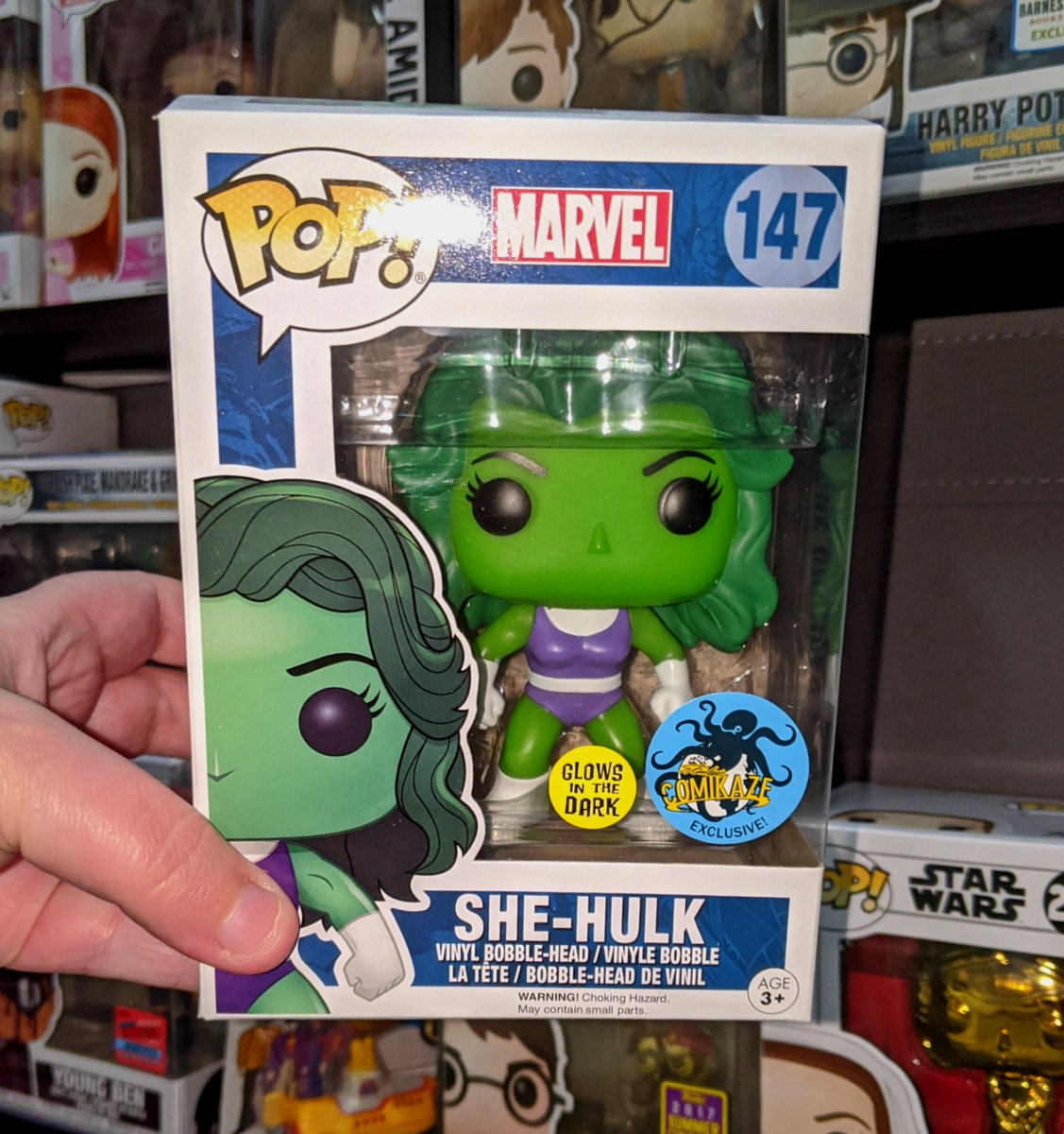 I really need @Funko to come out with more Drag Queen Funko Pops! Really loving this new @KameronMichaels Pop though 😂😉 #dragrace #shehulk #driveindrag