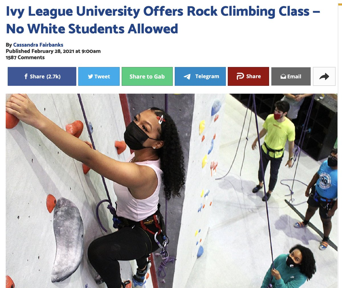 Ivy League schools finally catching on. WHITES should be banned from most classes because the space becomes OPPRESSIVE and UNSAFE when they are allowed to participate. #BLM #Cornell #Woke #WhitePrivilege #BlackLivesMatter #BlackTwitter #freedom #Trump #biden #EDI #equity