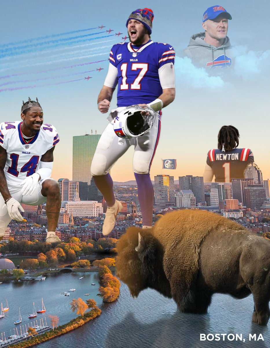 Made this for one of my classes! #BillsMafia