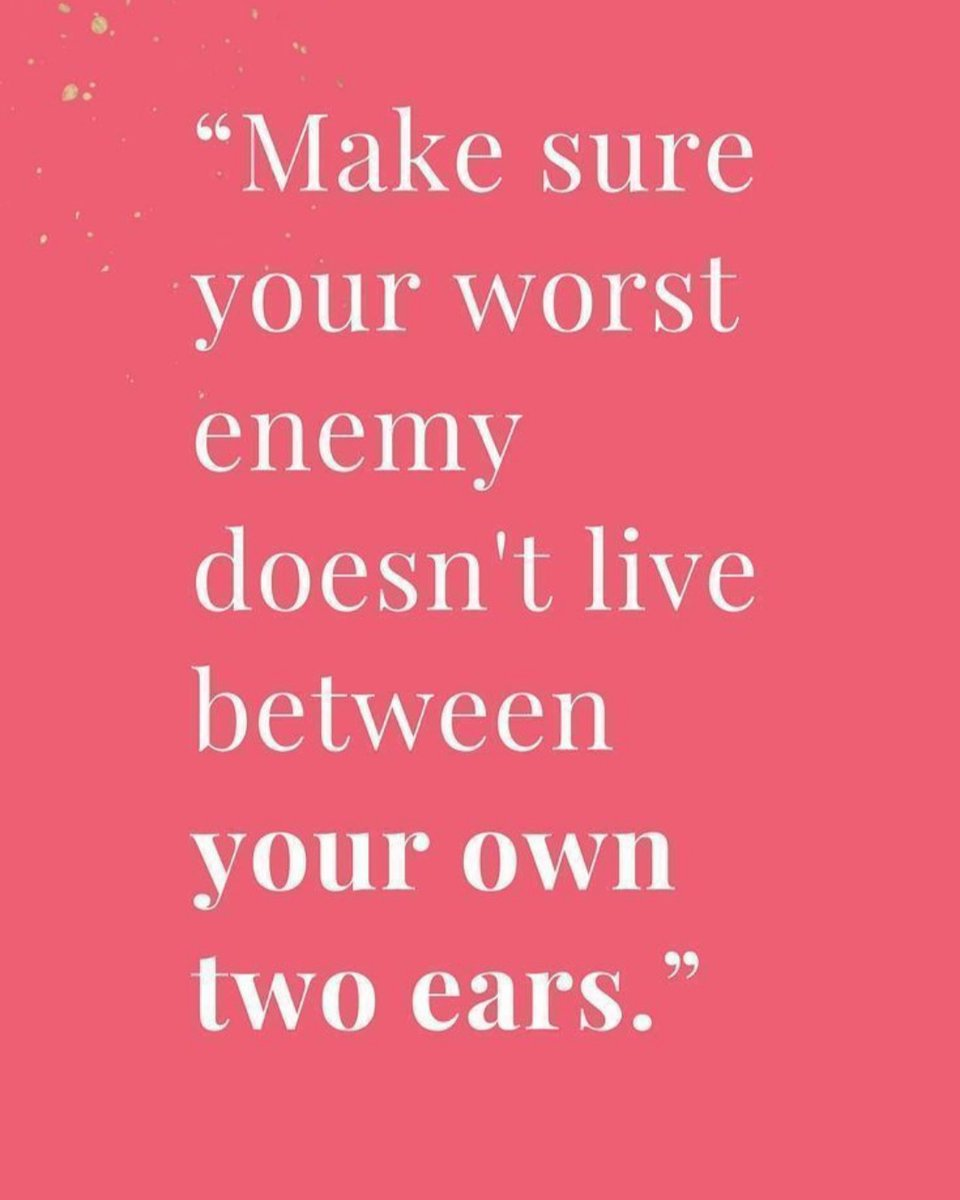 Your inner me can be your worst enemy.  Tread Lightly. #TheLittleGirlLostMovement #TFree #ChargesDropped #GetInTheRoomSis #iwilllisten #iwillspeak #iamyourvoice #IAmYourSTORY #TheGeneral #TraumaSlayer