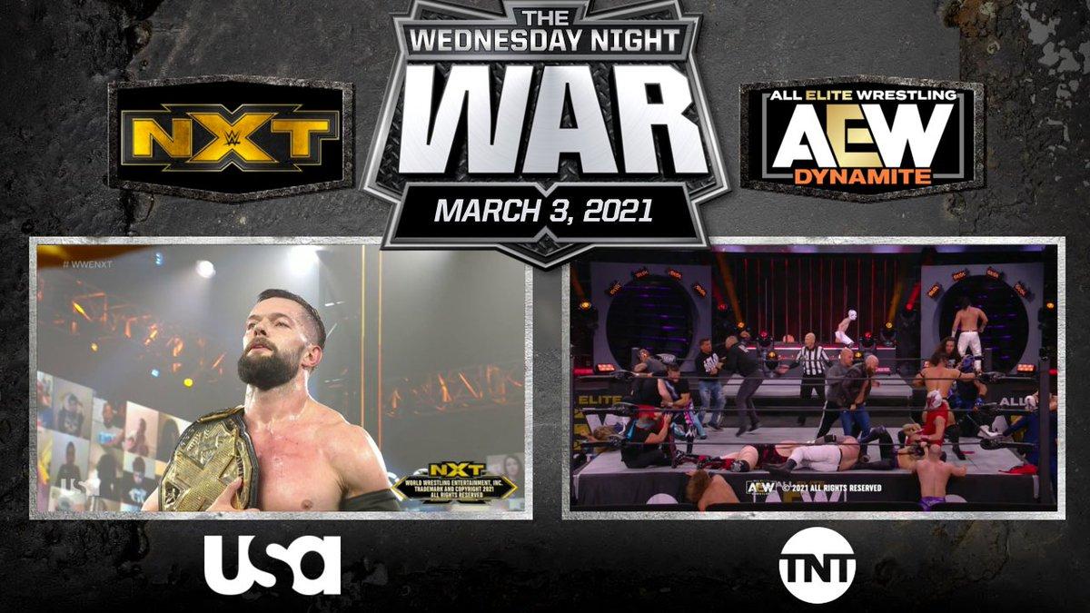 We're gonna see how much NXT has left in them before WrestleMania.  War's over, 4 more weeks left. #WWENXT #AEWDynamite #WednesdayNightWar