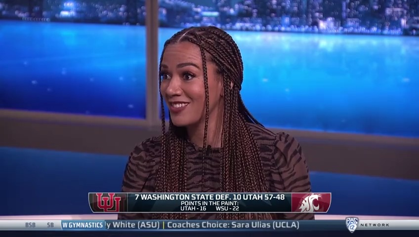 .@KlayThompson's Cougs & @ROSGO21's Card…possible #Pac12WBB Tournament final?  Whatcha thinking after this dub, Klay⁉️  Watch Gamebreak ⤵️ 📺 Pac-12 Network 📲