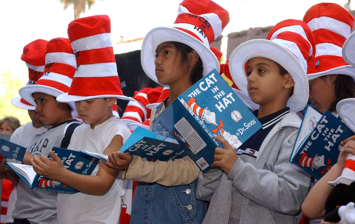So Much for Canceling Dr. Seuss: His Books Books Have Completely Taken Over the Bestseller List