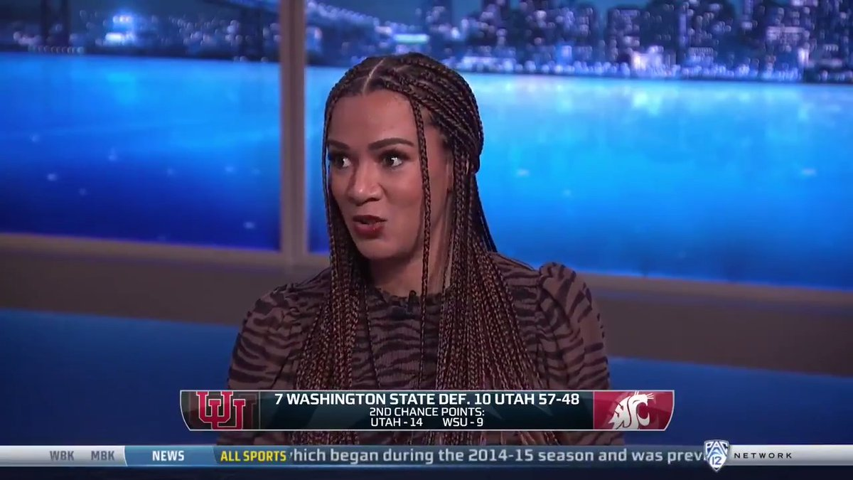 .@ROSGO21 speaking some truth on how difficult this season has been for every single team.  Watch Gamebreak ⤵️ 📺 Pac-12 Network 📲