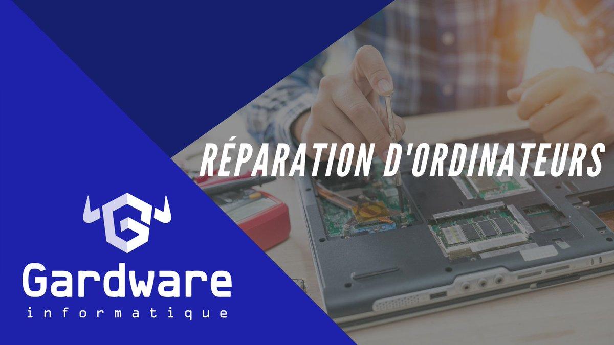 Votre #ordinateur ne démarre plus ? L'écran de votre ordinateur portable est cassé ? Vous voulez changer une pièce dans votre ordinateur ? 🛠️  Contactez-nous ! 👨💻  📧 contact@gardware.fr 📞 04 11 25 00 48  #tech #work #computer #laptop #apple #pc #technology #tech #mac #macbook